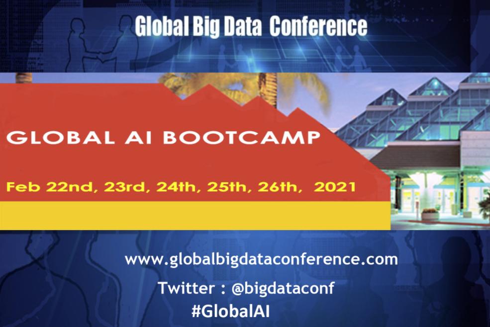 Global Artificial Intelligence Virtual Bootcamp - Workshop