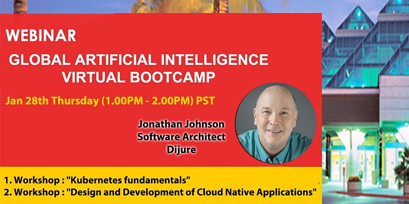 Global Artificial Intelligence Virtual Bootcamp - Webinar (Free)