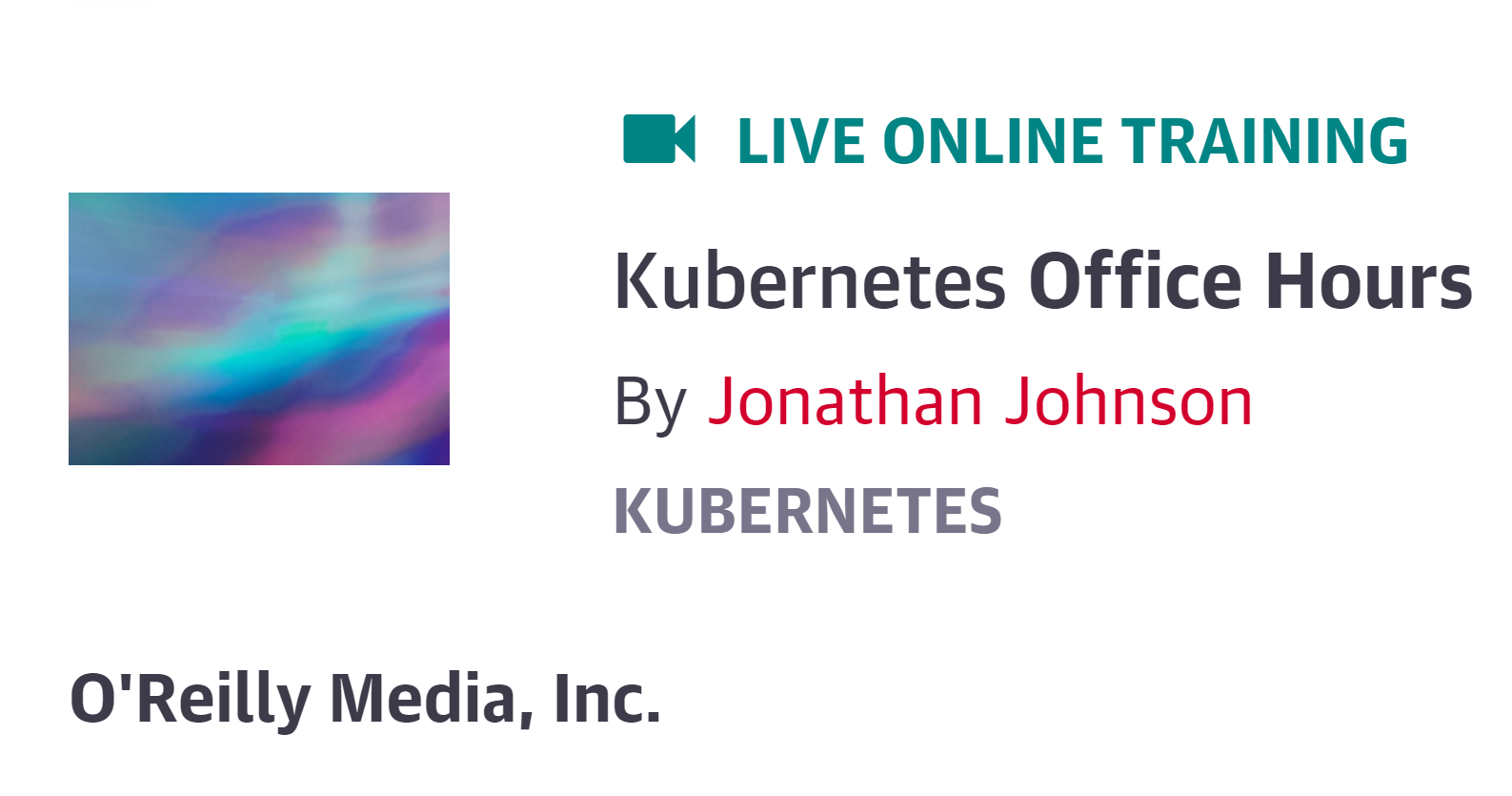 Kubernetes Office Hours